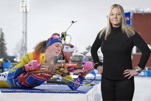 Ut och fira, ät en tårta, le lite extra, vaja så högt ni bara kan med de svenska flaggorna på medaljcermonin vid Rådhuset, eller vad vet jag men vi har en anledning att vara stolta och lite extra glada just i dag även om det svider lite i skidhjärtat.  Montage: TT/Johan Axelsson