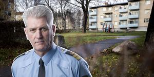 Enligt en polisanmälan ska en okänd man ha överfallit två flickor vid bostadsområdet Blomkransen. Polisens presstalesman Mikael Hedström (infälld i bilden) bekräftar att en polisanmälan har lämnats in.