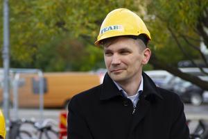 Fredrik Åberg-Jönsson, ordförande i region Gävleborgs hållbarhetsnämnd.