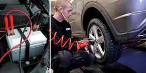 Vinterdäck och ett väl laddat batteri är det viktigaste att tänka på när bilen nu ska vinterrustas.
