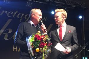 Hederspriset delades ut till Sven-Åke Aggesjö.