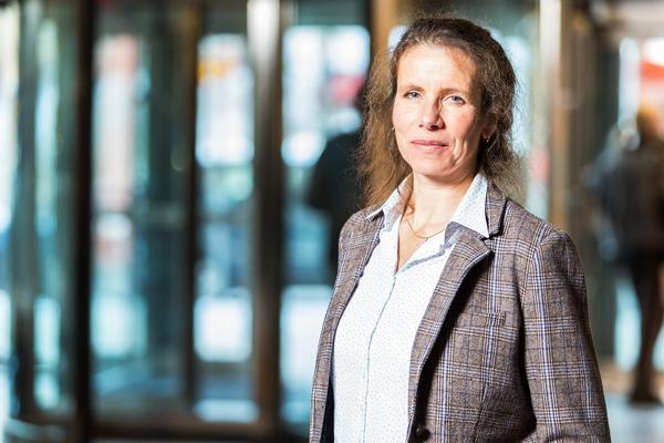Maria Jonsson, nätchef på Tre. Foto: FLB Europa
