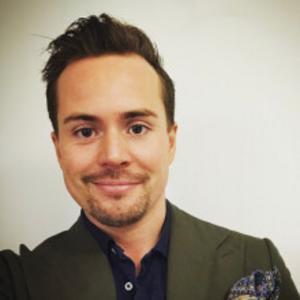 Magnus Limås, pressansvarig på Telia.  Foto: Telia