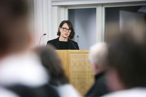 """""""Ullvi, Gärde och Tällberg är kvar. Det är skillnad på skolor med 70-80 elever och 20 elever  men det här är inget lätt beslut"""", säger Ulrika Liljeberg(C)."""