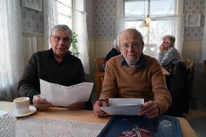 Alg Bergkvist och Jean Granberg träffades och  firade de extra 40 år de fått tack vara att de överlevde tågolyckan 1978.