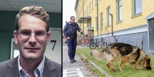 Tobias Kajbring är biträdande förundersökningsledare i fallet. – När det rör sig om mord måste man använda hela verktygslådan för att få fram så mycket bevismaterial som möjligt, säger han.