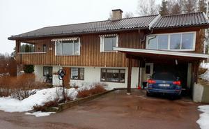 Foto: Privat. Huset i Lycka utvändigt.