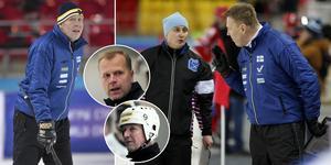 Antti Parviainen slutar som förbundskapten – och nämner Ari Holopainen och Esa Määttä som tänkbara ersättare. Bild: Rikard Bäckman / Andreas Tagg / Christoffer Million