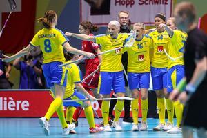 Anna Wijk tror sig ha spelat sitt sista VM. Photo: Per Wiklund / BILDBYRÅN