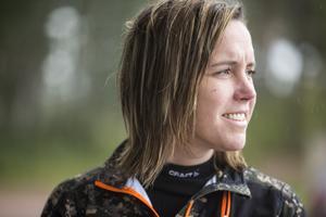 I somras fyllde Sofi Håmas Wallin 40 år. Hon har jagat själv i 22 år men är lite osäker på hur många älgar hon skjutit.