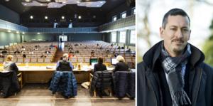 Björn Ljungqvist (M), ordförande barn- och utbildningsnämnden i Falu kommun, svarar på kritiken om en förändrad skolstruktur i Falu kommun.