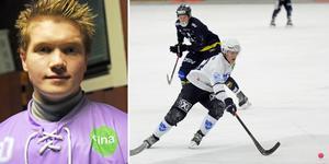 Anton Svensson och Oskar Lundgren i IFK Rättvik, som spelade oavgjort i allsvenska premiären hemma mot Tellus.