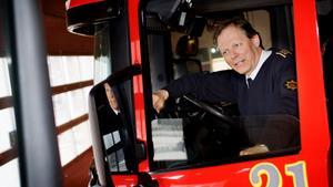 Lars-Göran Uddholm, brandchef, Södertörns brandförsvarsförbund. Bild: Kerstin Carlsson