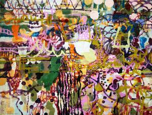 Kåre Henrikssons konst visar prov på en hel del nya konstnärliga stigar och stilar utan att för den skull tappa den spänning som alltid funnits i hans måleri.Christina Langert, Ahlbergshallen.