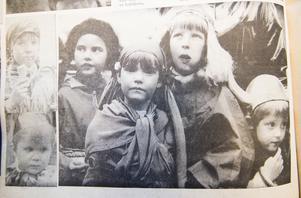 Barnmaskeraden var en succé under 1967 års Våryra. Känner du igen dig eller en bekant till dig på bilden? Hör gärna av dig till Fagersta-Posten!