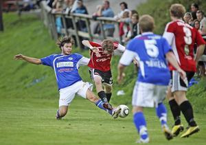 Det var tätt och jämnt mellan Stugsund och gästande Delsbo. Matchen slutade rättvist 1–1.