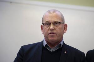 Johan Lindholm, ordförande Byggnads.