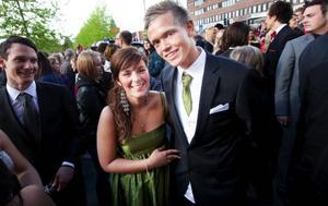 Joanna Franzén och Daniel Knutsson hoppades på