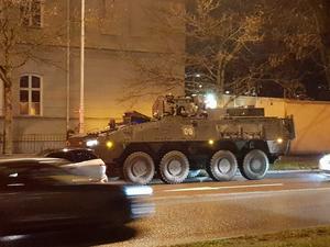 Välkommen till Gävle! säger vi till Livgardets 12:e motoriserade skyttebataljon.