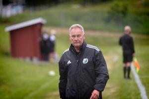 Östavallstränaren Rhonny Nilsson.