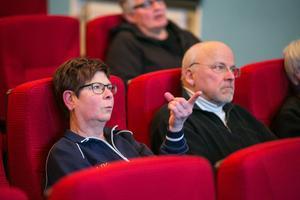 Ewa Mähler och Kenneth Sjödin tillhörde de många som ställde frågor.