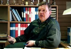 Rolf Norrbom var en tuff förhandlare bakom skrivbordet, enligt Matthiasson. Foto: Hans-Göran Engström.