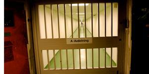 På Halls säkerhetsavdelning  sitter några av landets farligaste fångar. Foto: Scanpix