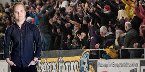 2 448 åskådare såg Broberg–Bollnäs på plats – publikrekord i Helsingehus Arena.
