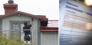 Behövs fullständiga gymnasiebetyg för att måla om ett hus? Det frågar sig insändarskribenten. Foto: Fredrik Sandberg