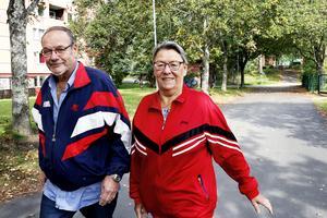 Victor och Gertrud Matikainen bor i Andersberg.