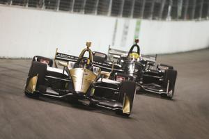 Marcus Ericsson lämnar Schmidt Peterson Motorsport för Chip Ganassi. Arkivfoto: Chris Owens/Indycar