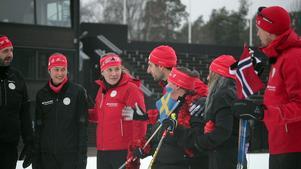 Foto: Privat Till sin hjälp kommer deltagarna att ha OS-guldhjälten i längdskidor, Johan Olsson, samt Annie Thorén, nordisk mästare i triathlon. Foto: Privat