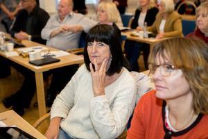 Motvalls. I fullmäktigesalen har Annicka Burman (V) gått emot partilinjen både vad gäller Sollefteå BB och senast Sidsjö vårdcentral.