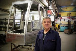 Innovatören PG Lockner blickar mot framtiden för företaget i Bjärtrå.