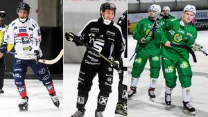 Daniel Burvall Jonsson, Christoffer Edlund, Jesper Jonsson och Adam Gilljam. Foto: Andreas Tagg / Christine Olsson (TT)