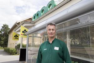 Ingemar Forsberg är tillbaka på Copp i Forsbacka, där han började sitt yrkesliv för mer än trettio år sedan.