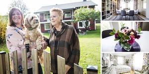 Maarja Edman och hennes mamma Cecilia Edman  längtade  båda efter ett mer praktiskt och socialt liv så för tre år sedan bestämde de sig för att köpa ett hus och starta sitt eget generationsboende.