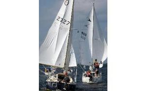 18 segelbåtar deltog. FOTO: KRISTINA VAHLBERG