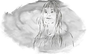 Åklagare Therese Stensson.  Illustration: Torkel Bohjort