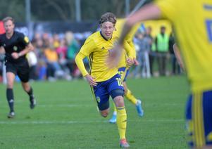 Jesper Carström byttes in när klockan stod på 73 minuter.