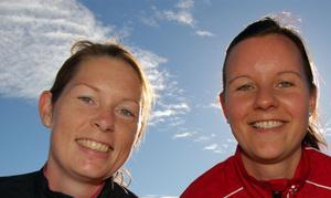 Anna Edling och Anna Karin Germunder, från Ludvika respektive Falunjobbade tidigare tillsammans som lärare Borlänge. Nu kom de överens om att träffas igen under Kullaruset i Grönklitt.