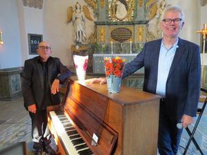 Fr.v. Eldar Levgran och Thomas Nordin