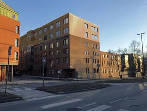 Så här kan Clarion Hotell se ut efter utbyggnaden om planerna går i lås. Fotomontage: Krook&Tjäder arkitektfirma