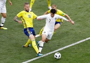 Pontus Jansson klev in och levererade när Victor Nilsson Lindelöf var sjuk. Bild: AP.