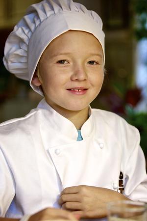 Albin Jonsson tackar sin kusin Lia för att han blivit intresserad av att baka