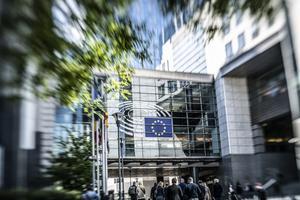 EU-parlamentet i Bryssel. Foto: Yvonne Åsell / SvD / TT