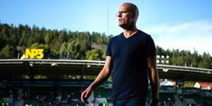 Cedergren bekräftar ett till nyförvärv. Foto: Erik Mårtensson/TT