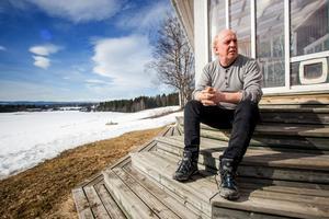 Om gruvan blir verklighet kan Gunnar Andersson inte bo kvar på gården i Oviken.