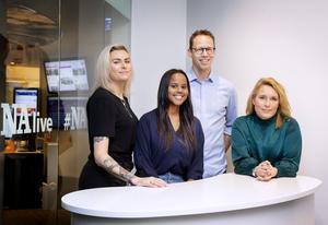Emma Larsson, Kaltum Mohamud, Markus Lutteman och Anna Jinghede är fyra krönikörer som börjar skriva i NA i januari.