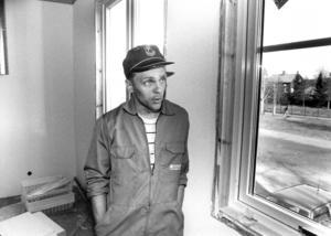 Åke Wilhelmsson var lärare på skolan och ställde även han upp i renoveringsarbetet.